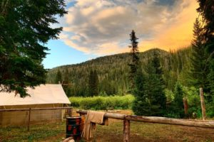 Horse Pack Trips at Flat Creek Ranch